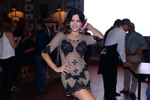 Tânia Oliveira (Foto: Leo Franco/ AgNews)
