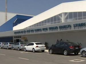 aeroporto de são josé dos campos (Foto: Reprodução/ TV Vanguarda)