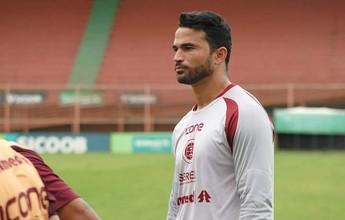 Após empate na estreia, goleiro Felipe aposta em evolução na Desportiva