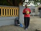 Padre percorre a pé mais de 140 km para celebrar Ano Santo em Roraima
