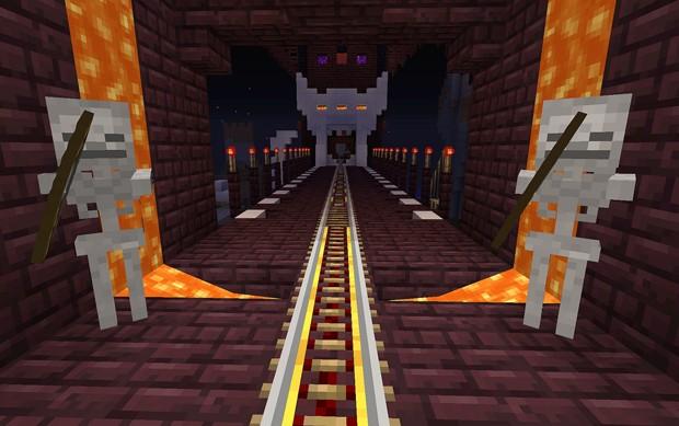 'Minecraft' chega para PS4 nesta quinta-feira (4) (Foto: Divulgação/Sony)
