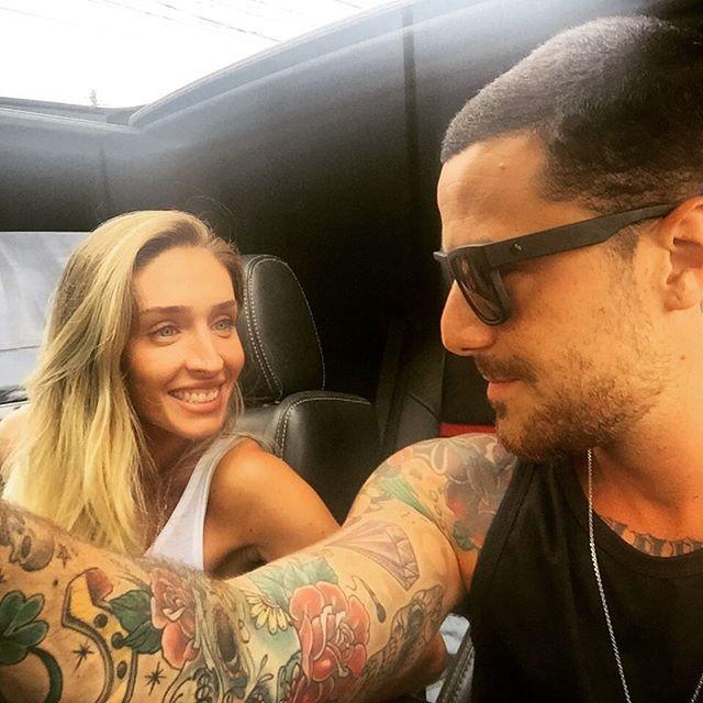 Mel Martinez e Felipe Titto (Foto: Reprodução/Instagram)