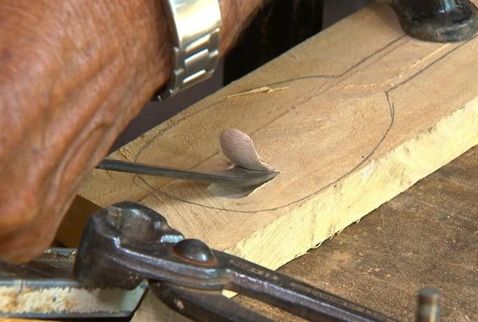 colher de pau (Foto: Reprodução / TV TEM)