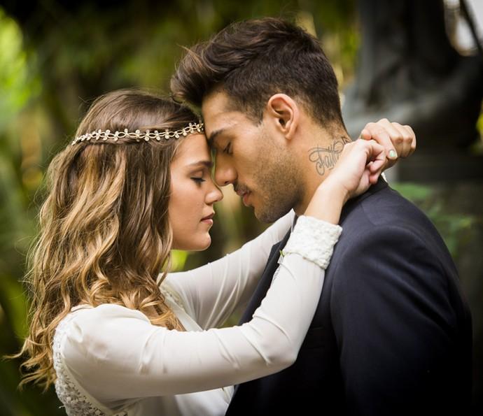 É muito amor para uma foto só (Foto: João Miguel Jr./TV Globo)