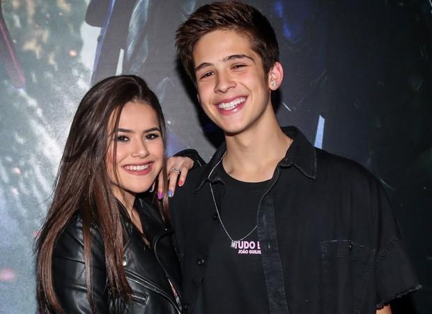 Maisa Silva e João Guilherme (Foto: Manuela Scarpa/Brazil News)