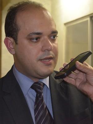 André Ribeiro, advogado, Campinense (Foto: Edgley Lemos / GloboEsporte.com/pb)