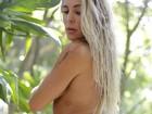 Joana Machado posa sensual para saudar 2017