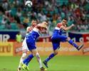 """Hernane ironiza gol anulado e lamenta vaias do torcedor: """"Não sei explicar"""""""