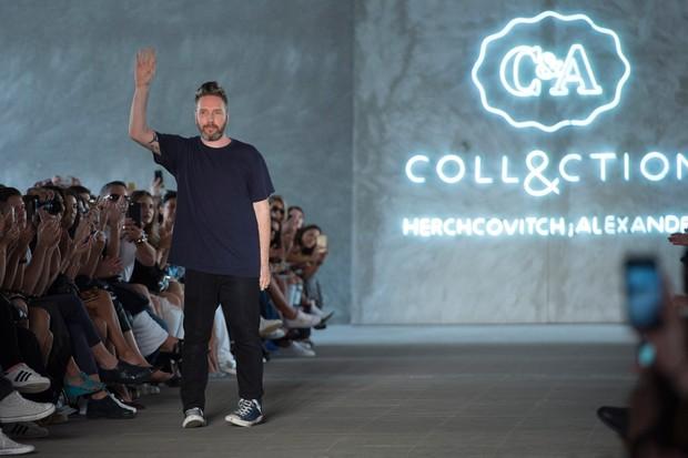 O estilista Alexandre Herchcovitch cria roupa de noiva e para casamento a preços populares para rede de departamento (Foto: Divulgação)