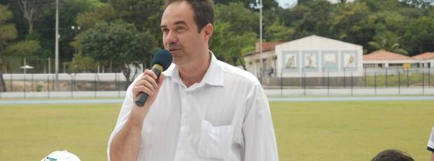 Zé Marco, secretário de Esportes da Paraíba (Foto: Lucas Barros / Globoesporte.com/pb)