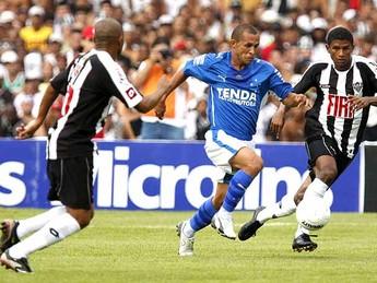 Jadílson atuando pelo Cruzeiro em 2008 (Foto: Washington Alves / Light Press)