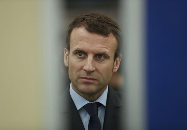 O ex-ministro e candidato à presidência da França, Emmanuel Macron (Foto: Sean Gallup/Getty Images)