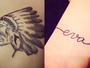 Jogo: você consegue adivinhar de quem são essas tatuagens?