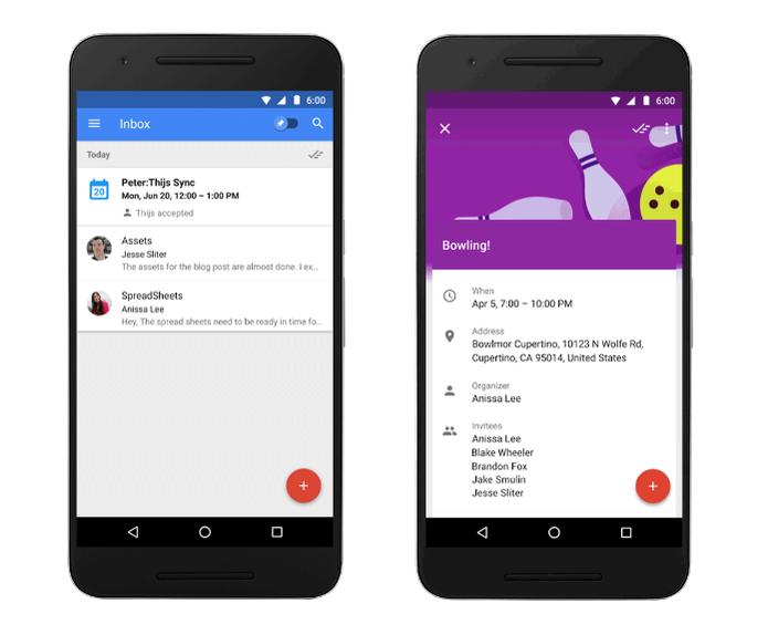 Inbox do Google permite acompanhar eventos no Google Agenda (Foto: Divulgação/Google)
