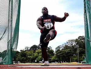 Mário Luis atletismo Uberlândia (Foto: Sesi / Divulgação)