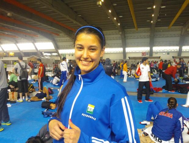talisca reis mundial taekwondo méxico (Foto: Divulgação)