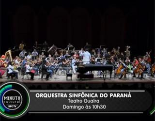 Minuto Cultural CWB - Orquestra Sinfônica do Paraná (Foto: Reprodução/RPC TV)