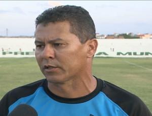 Ramiro Sousa, técnico do Miramar de Cabedelo (Foto: Reprodução / TV Paraíba)