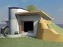 Arquiteto desenvolve técnica de construção de casa com pneus usados