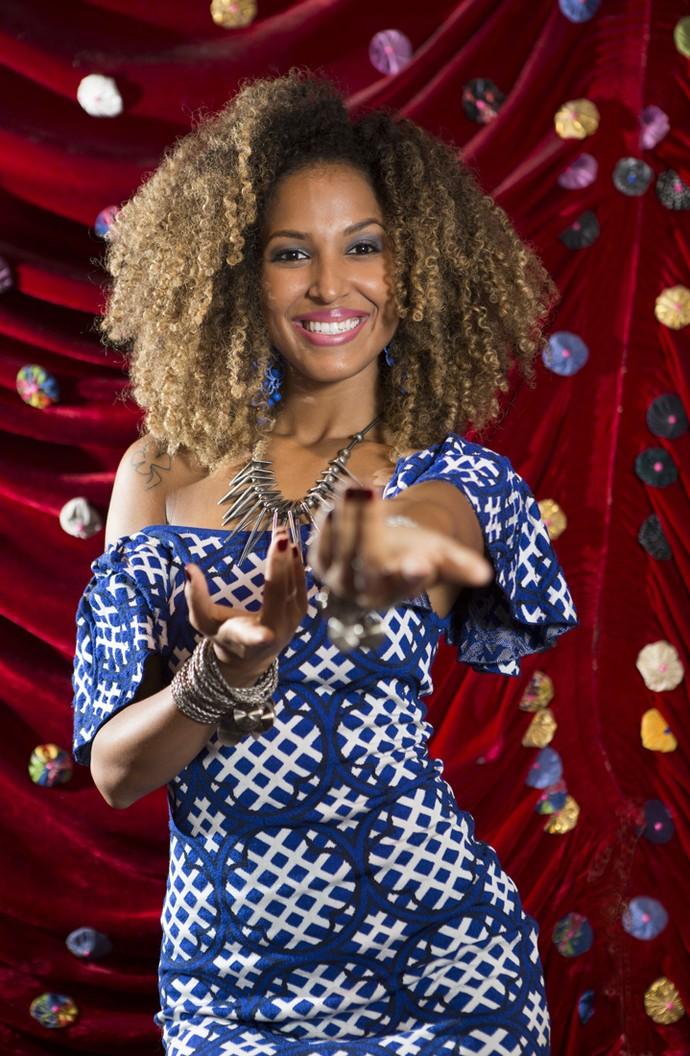 Erika Moura, a Globeleza, musa do Carnaval (Foto: Carol Caminha/Gshow )