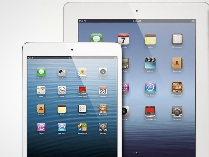 Primeiro iPad mini tem tela menor e sem tecnologia Retina (Foto: Divulgação/Apple)