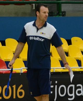 Danilo Padovani, técnico do Mogi das Cruzes Basquete (Foto: Cairo Oliveira)
