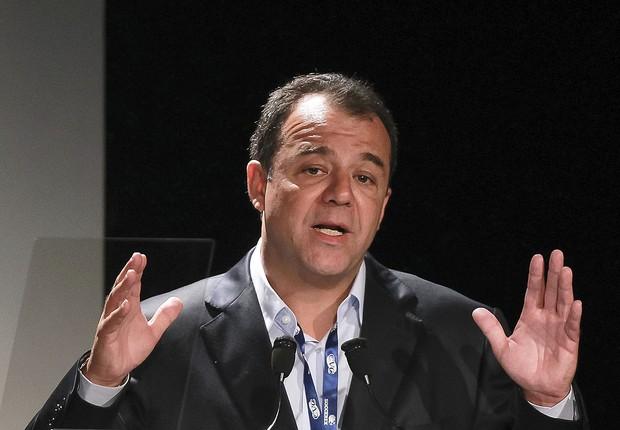 O ex-governador do Rio Sérgio Cabral (PMDB) foi preso em operação da PF (Foto: Buda Mendes/LatinContent/Getty Images)