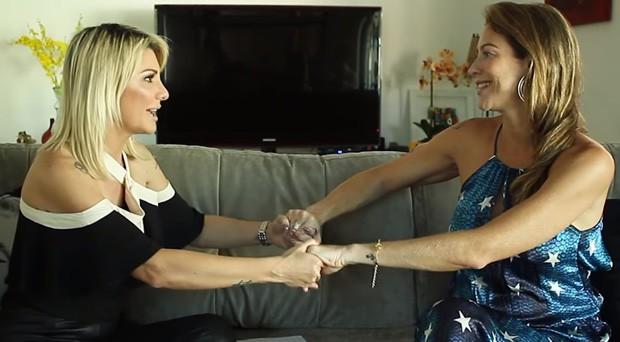 Antonia Fontenelle e Luana Piovani (Foto: Reprodução/Na Lata)