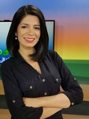 Jornalista Priscilla Sampaio (Foto: Reprodução/TV Morena)