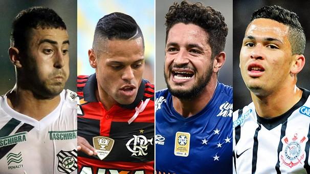 Nesta quarta-feira, dia 8, você vê na Globo Figueirense x Flamengo e Cruzeiro x Corinthians (Foto: globoesporte.com)