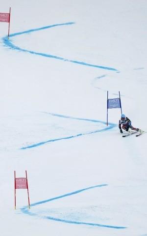 Ted Ligety ouro no slalom gigante do Mundial de esqui (Foto: AP)