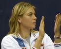 Sharapova não entra em quadra e vê Rússia ser eliminada na Fed Cup