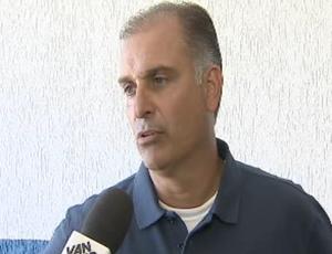 Carlos Octávio, técnico do Guará (Foto: Reprodução/ TV Vanguarda)