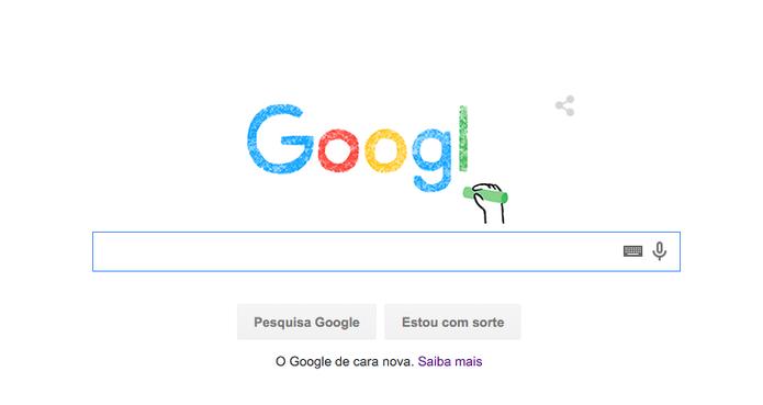 Doodle do Google revela novo logotipo do buscador (Foto: Reprodução/Google)