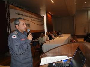 comandante dos Bombeiros em Montes Calros (Foto: Divulgação)