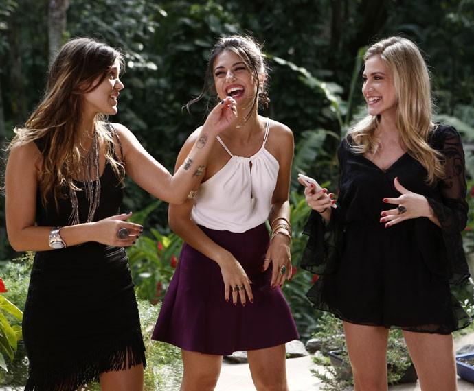 As vilãs estilosas se reúnem para um PapoReto especial de moda (Foto: Inacio Moraes / Gshow)