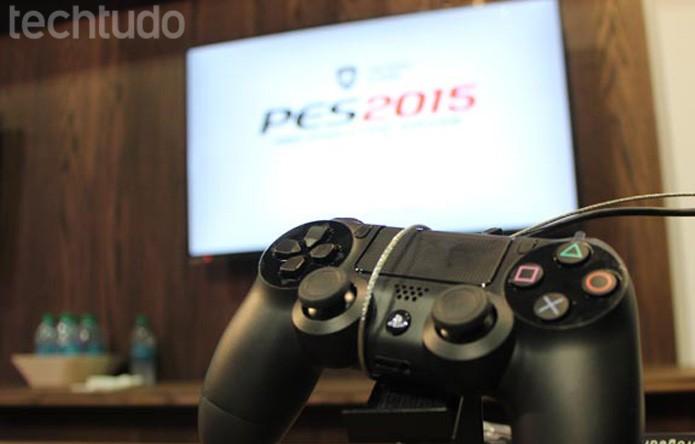 PES 2015 virá para a nova geração de consoles (Foto: Felipe Vinha/ TechTudo)