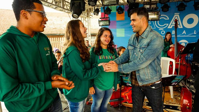 Ação Global ocorre em Cachoeirinha neste sábado (30) (Foto: Emmanuel Denaui/Divulgação)