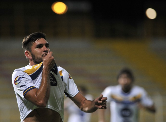 Jorge Ortega Sportivo Luqueño (Foto: Guillermo Legaria/AFP/Getty Images)