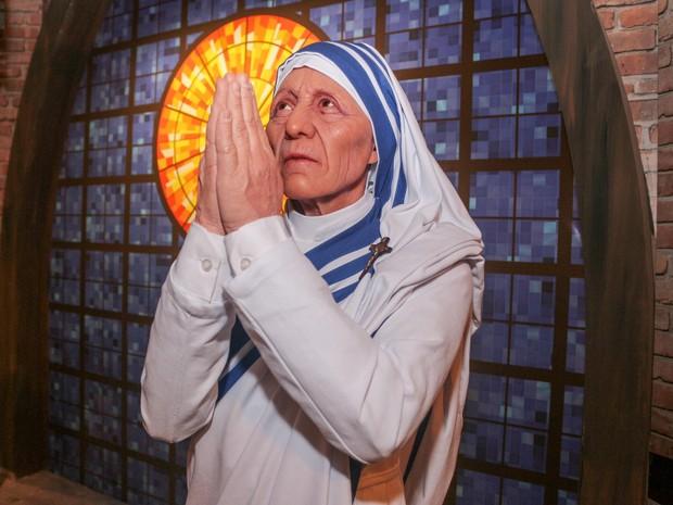 Madre Teresa museu de cera Aparecida (Foto: Divulgação / Santuário Nacional de Aparecida)