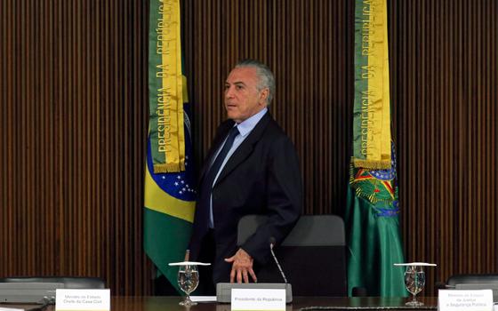 O presidente Michel Temer  (Foto:  Fabio Rodrigues Pozzebom/Agência Brasil)
