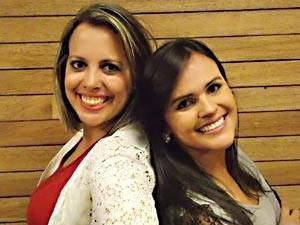 CEILÂNDIA: Andréia Castro é casada, publicitária e tem 27 anos. A outra parceira é Isabel Soares, 21 anos, estudante de economia.  (Foto: TV Globo/reprodução)