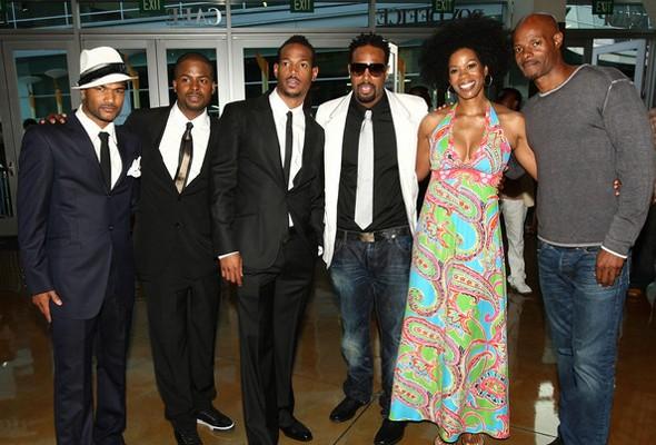Marlon Wayans, Shawn Wayans, Damon Wayans, Keenen Ivory Wayans, Damien Dante Wayans e Kim Wayans (Foto: .)