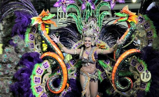 Rainha das Rainhas 2014 (Foto: Alexandre Yuri/G1 Pará )