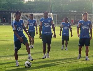 Obina Treino Palmeiras (Foto: Diego Ribeiro / Globoesporte.com)