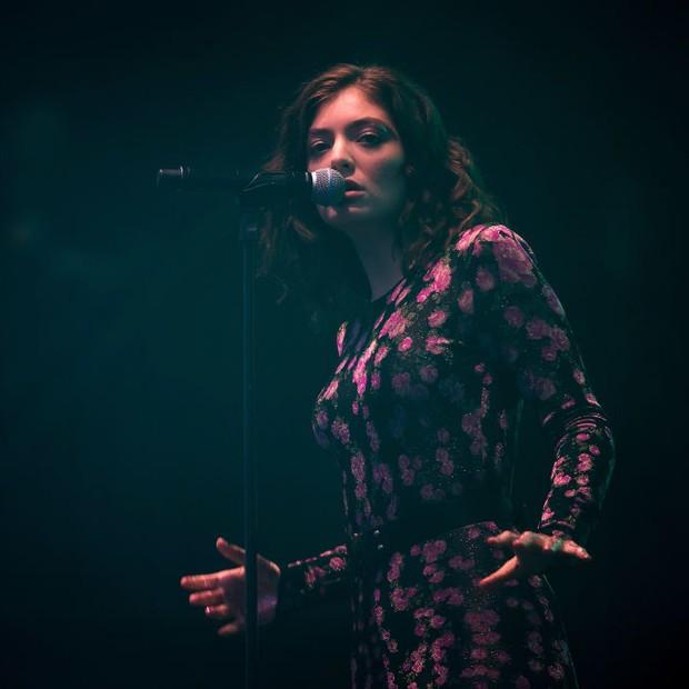 Show de Lorde no Festival Glastonbury 2017 (Foto: Getty Images)