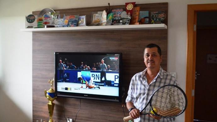 Sergio Borsio, tenista Acre (Foto: Duaine Rodrigues)