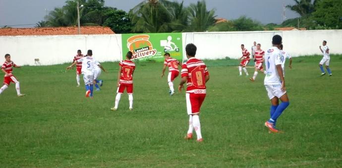 Parnahyba e 4 de Julho pelo Piauiense Sub-19 (Foto: Elmadã Gonçalves / Torcida Azulina)