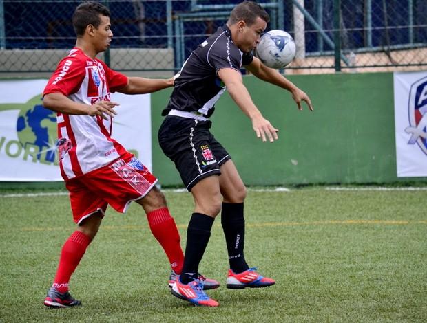 Vasco e Bangu terminam empatados em 2 a 2 pela 4ª rodada do Carioca de futebol de 7 (Foto: Joaquim Azevedo/JornalF7.com)