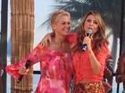 Alinne Rosa grava com Xuxa: 'Sempre uma farra'